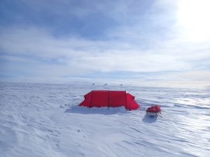 Antarctica camp