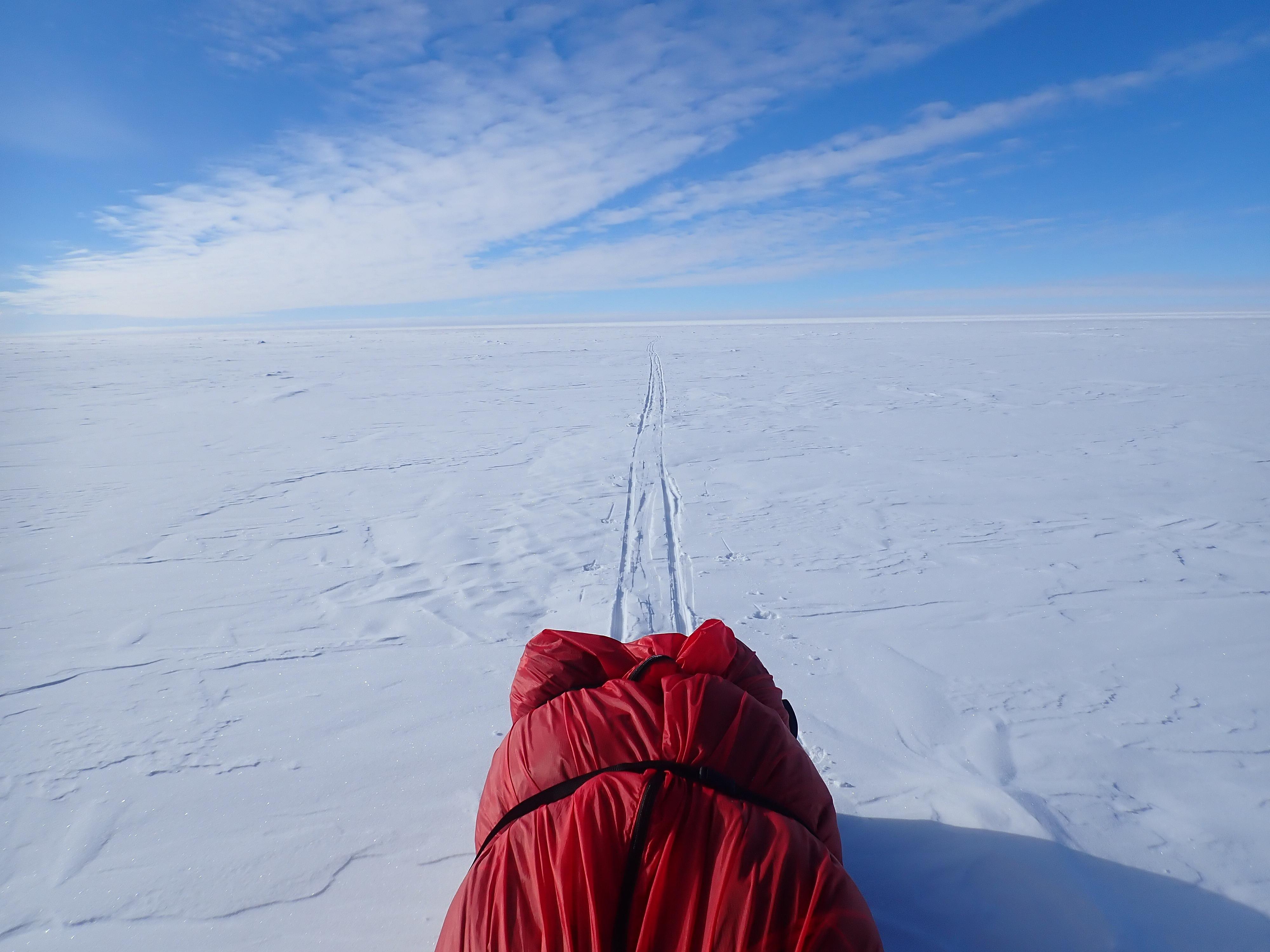 Antarctica sled